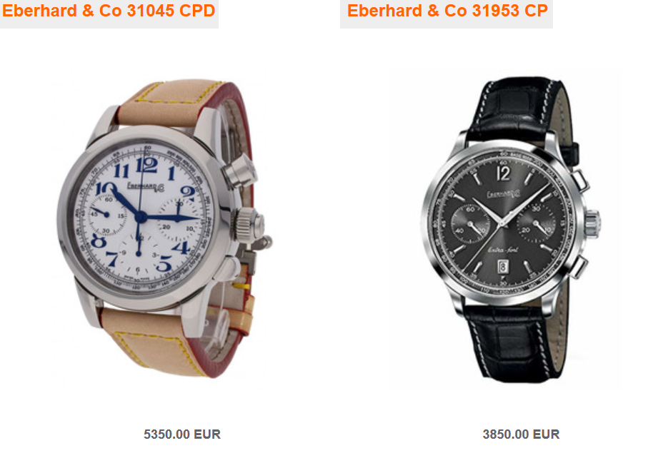 Eberhard & Co Uhren2