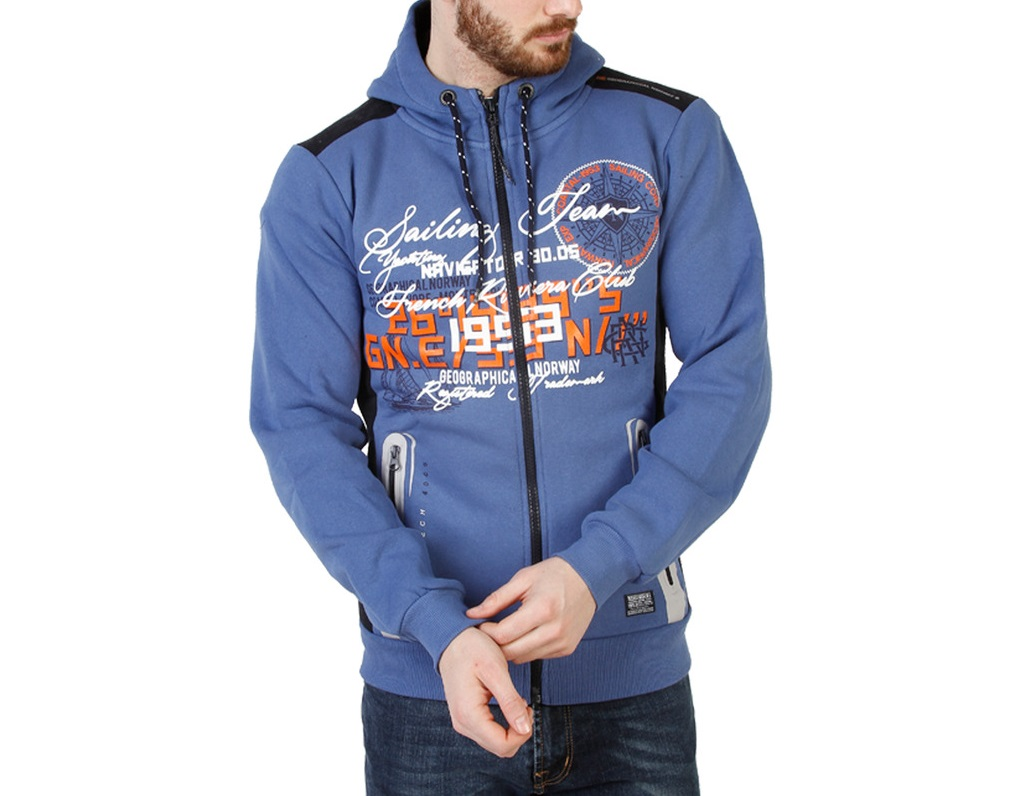 Geographical Norway - Gailing Man Blue XL