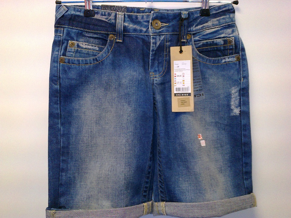 ICHI Jeans Shorts blue 1