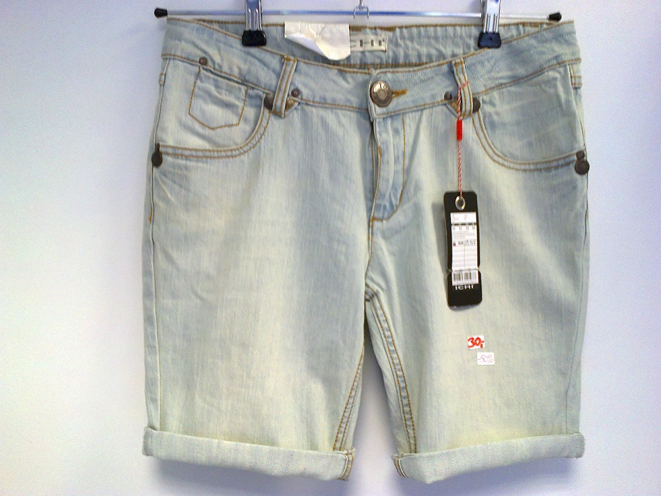ICHI Jeans Shorts blue 3