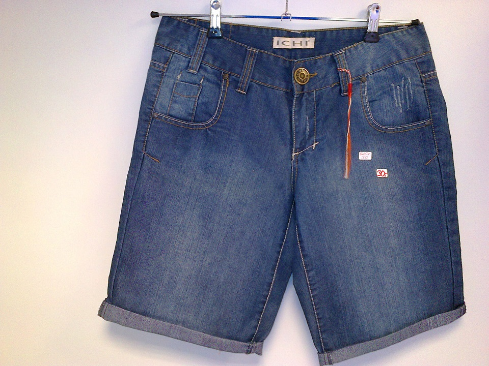 ICHI Jeans Shorts blue 4