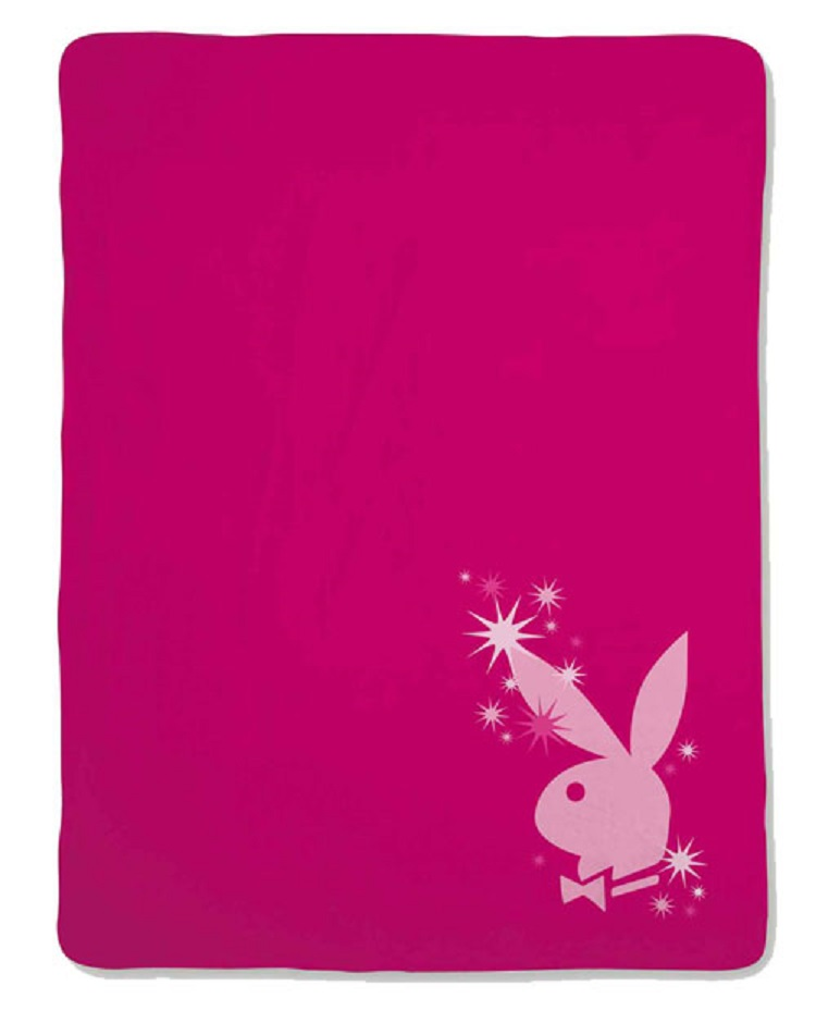Playboy Fleece Decke
